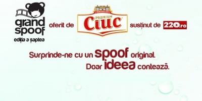 Incepe competitia de parodiat reclame Grand Spoof 2013, oferita de Ciuc Premium la ADfel