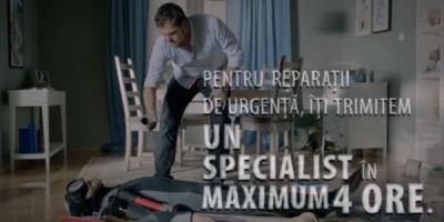 Groupama promoveaza serviciul de asigurare a locuintei, printr-o campanie semnata de Marks