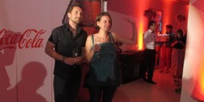 Mihaela a fost vedeta petrecerii Coca-Cola
