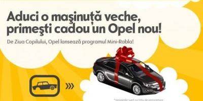 "De 1 iunie, Opel Romania a desfasurat programul ""Mini-Rabla"""