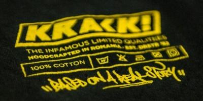 Brandul de streetwear Krack se lanseaza la Street Delivery