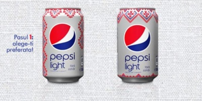 Pepsi invita consumatorii sa aleaga designul dozei de Pepsi Light