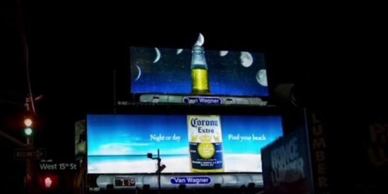 Corona Extra le aduce consumatorilor luna de pe cer
