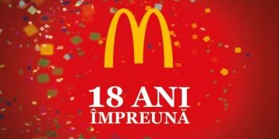In 18 ani, McDonald's Romania a investit peste 120 milioane EUR in restaurante