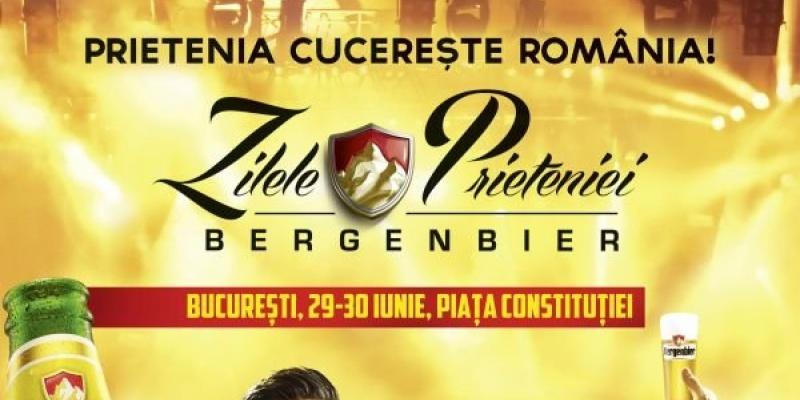 Bergenbier invita romanii la caravana Zilele Prieteniei