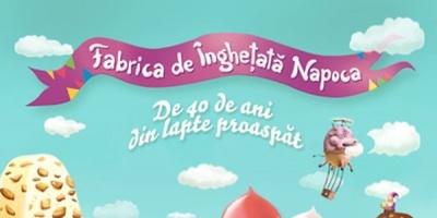 Un baietel descopera lumea magica a inghetatei din lapte in campania aniversara Napoca