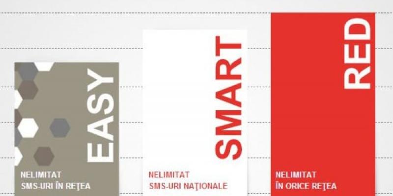 Noi abonamente in portofoliul Vodafone: Smart si Easy