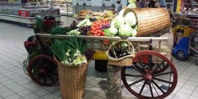 Carrefour Romania sarbatoreste drapelul cu degustari de produse romanesti