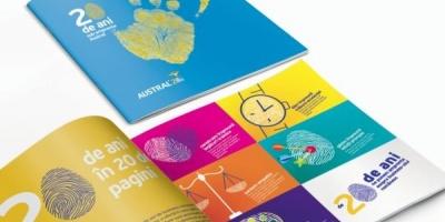 Rebranding aniversar Austral pornind de la conceptul de amprenta