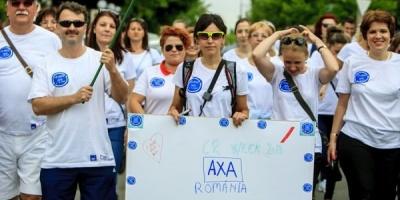 Angajatii AXA Romania au parcurs 5.000 de km pentru sustinerea unui proiect de educatie financiara