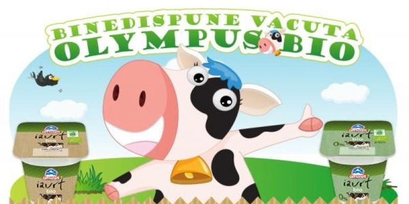 Iaurtul Olympus Bio se lanseaza pe Facebook