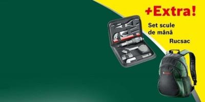 Bosch isi premiaza cumparatorii din reteaua de magazine bauMax