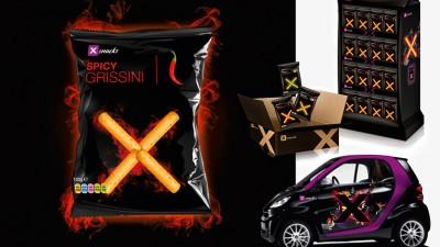 X Snacks - Packaging, branding