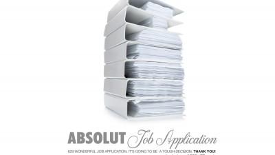 ABSOLUT Vodka - Job Application (landscape)