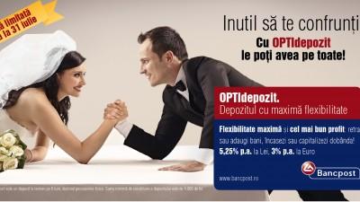 Bancpost OPTIdepozit - Nunta (OOH)