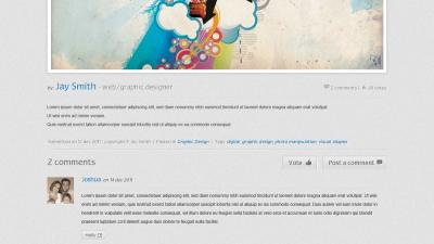 Cabooodle - Web design