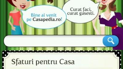 Casapedia - Mobisite