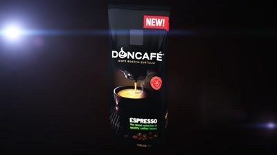 Doncafe - 3D packaging animatie