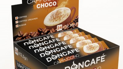 Doncafe - 3D packaging Cappuccino Choco
