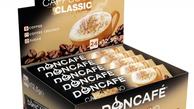Doncafe - 3D packaging Cappuccino Classic
