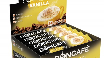 Doncafe - 3D packaging Cappuccino Vanilla