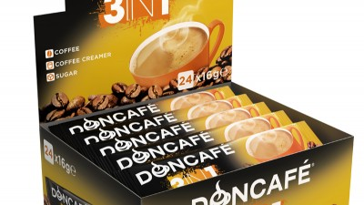 Doncafe - 3D packaging Doncafe 3in1