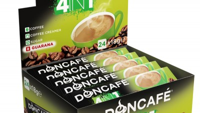 Doncafe - 3D packaging Doncafe 4in1