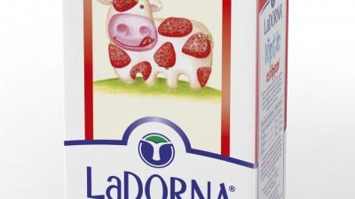 LaDorna - Ambalaj 3D Laptic cu capsuni