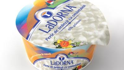 LaDorna - Ambalaj 3D Perle de branza cu smantana