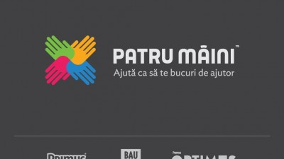 Patru Maini - Logo