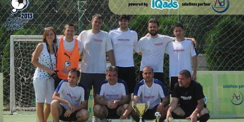 Mediafax Monitorizare castiga Cupa Agentiilor la Fotbal, editia 2013