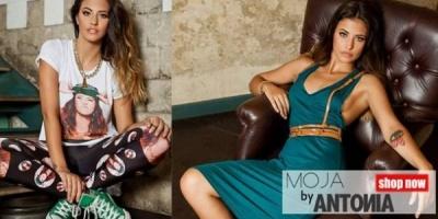 Antonia a lansat o colectie de haine, in colaborare cu MOJA concept-store