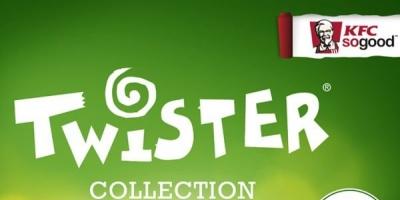 KFC lanseaza trei sandvisuri Twister pentru perioada verii