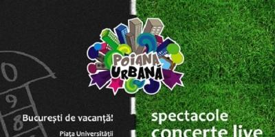 Poiana Urbana revine in perioada 11 iulie-29 septembrie, in Piata Universitatii din Bucuresti