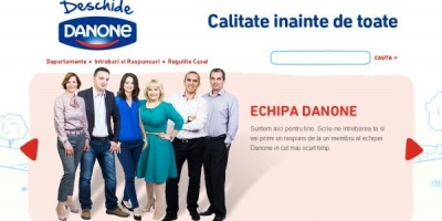 Deschide Danone, platforma care faciliteaza conversatia intre consumatori si reprezentantii companiei