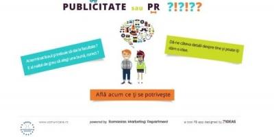 SNSPA lanseaza o aplicatie pentru absolventii de liceu – PR sau Publicitate?