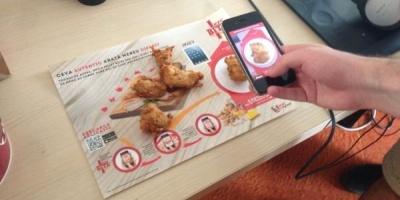 """Peste 50.000 de scanari efectuate prin intermediul aplicatiei KFC """"Bite to Win"""""""