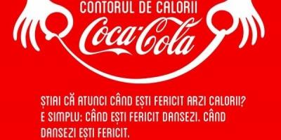 Caloriile arse la B'estFest au fost masurate cu Contorul de Calorii Coca-Cola