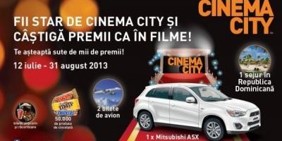 "Cinema City desfasoara campania estivala ""Fii star de Cinema City si castiga premii ca in filme"""