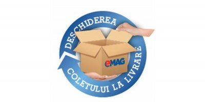 eMAG vrea sa castige increderea clientilor lansand serviciul de deschidere a coletului la livrare