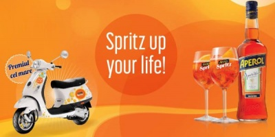 "Aperol lanseaza campania promotionala ""Spritz up your life"""