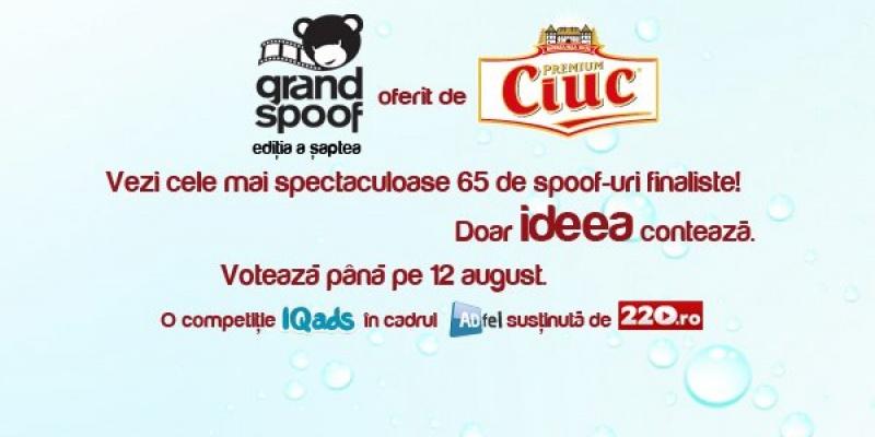 Spoof-urile finaliste la Grand Spoof asteapta sa fie votate pana pe 12 august