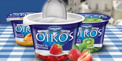 Danone lanseaza OIKOS, un nou brand de iaurturi