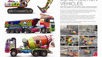 Bay Insaat / 42 Maslak – Artful Construction Vehicles