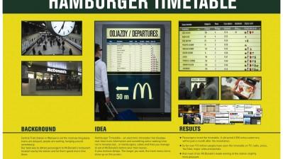McDonald's – Hamburger Timetable