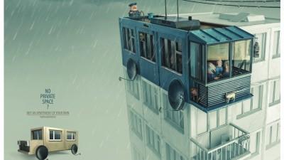 Morton Construction - Trolleybus
