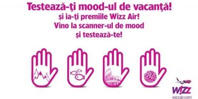 """Wizz Air foloseste """"testul pentru mood-ul de vacanta"""" pentru a recomanda destinatii la ADfel 2013"""