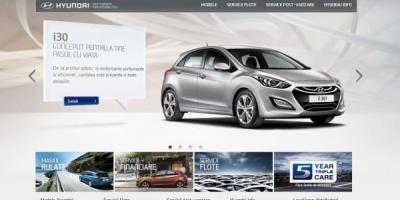 Hyundai Auto Romania isi lanseaza noul site dezvoltat de HIPPOS