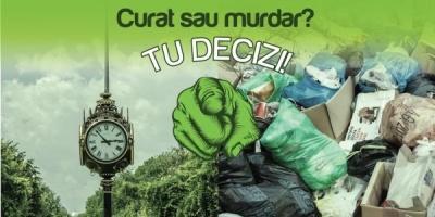 "3 tone de gunoaie stranse in cadrul actiunii de ecologizare ""Curat Romania"", demarate de Piraeus Bank"