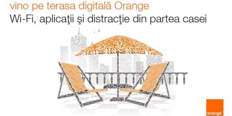Cum se vede lumea de pe terasa digitala Orange de la ADfel 2013